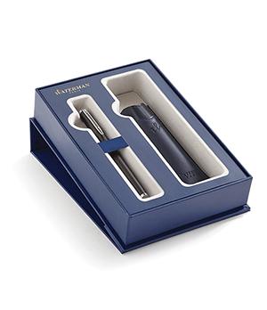 Подарочный набор Waterman Waterman Hemisphere, ручка перьевая+чехол, матовый  2019833