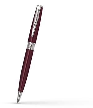 Шариковая ручка Pierre Cardin QUEEN'S PARK AIRLINE, латунь, лак, красная  PCA1563BP