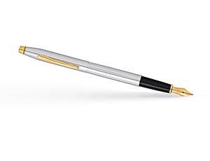 Перьевая ручка Cross Cross Classic Century Medalist, латунь, позолота 2  AT0086-109MF