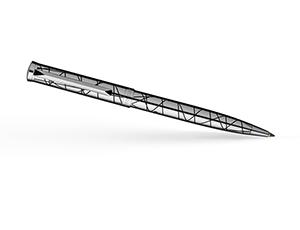 Шариковая ручка Pierre Cardin Evolution, латунь, лак, гравировка, хром  PC1028BP