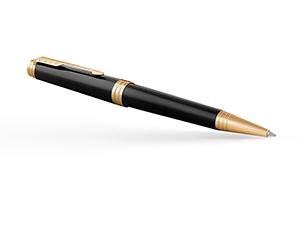 Шариковая ручка Parker латунь, пишущий узел М, поворотный механизм, 13,7  1931412