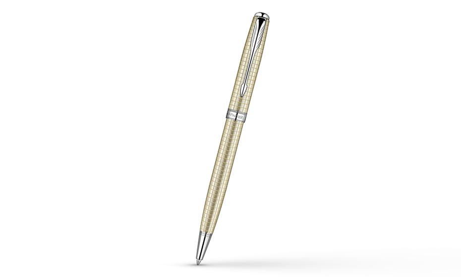 Шариковая ручка Parker Sonnet, серебро  S0912520-S