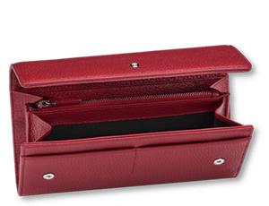 Бумажник Montblanc Meisterst?ck Soft Grain, 10сс, кожа, красный  116973