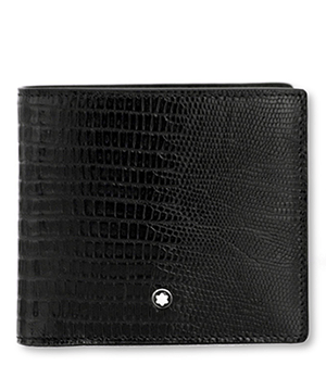 Бумажник Montblanc Meisterstuck Selection, 4сс, кожа с тиснением под  116293