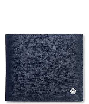 Бумажник Montblanc 4810 Westside, 4сс, с отделением для монет, кожа,  118657