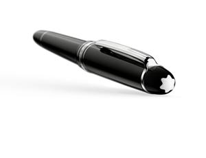 Перьевая ручка Montblanc Meisterst?ck LeGrand Traveller, с платиновым напыл  114226