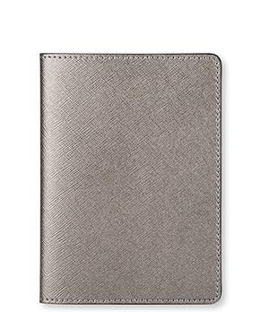 Обложка Avanzo Daziaro Avanzo Daziaro, для паспорта, кожа, серый металик  AD-019-1019GRE'