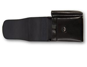 Чехол Golden Head Colorado Classic, для пачки сигарет, кожа, черный  631205-8