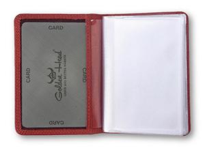 Чехол Golden Head Golden Head Polo, для кредитных карт, кожа, красны  443150-1