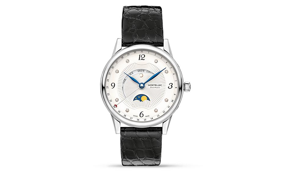 Часы Montblanc Boheme Moongarden, женские, 36мм, автоматический м  112556