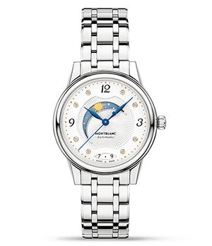Часы Montblanc Boheme Day & Night, женские, 30мм, автоматический  114731