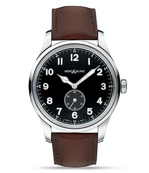 Часы Montblanc 1858 Automatic Small Second мужские 44мм  115073