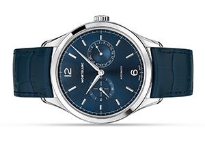 Часы Montblanc Heritage Chronometrie Twincounter Date мужские 40м  116244