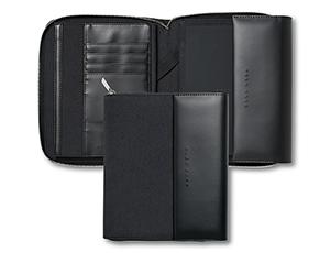 Папка Hugo Boss Advance, А5, кожа, серый  HTM705J