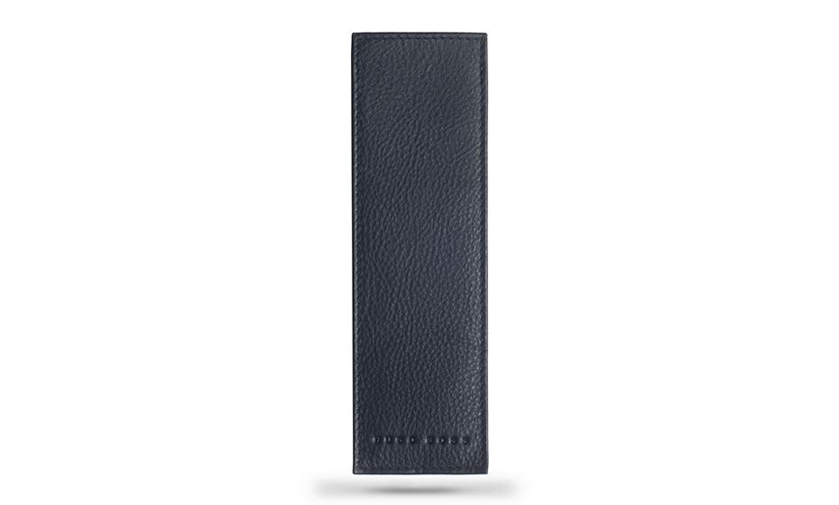 Чехол Hugo Boss Storyline, для ручки, кожа, синий  HLB808N
