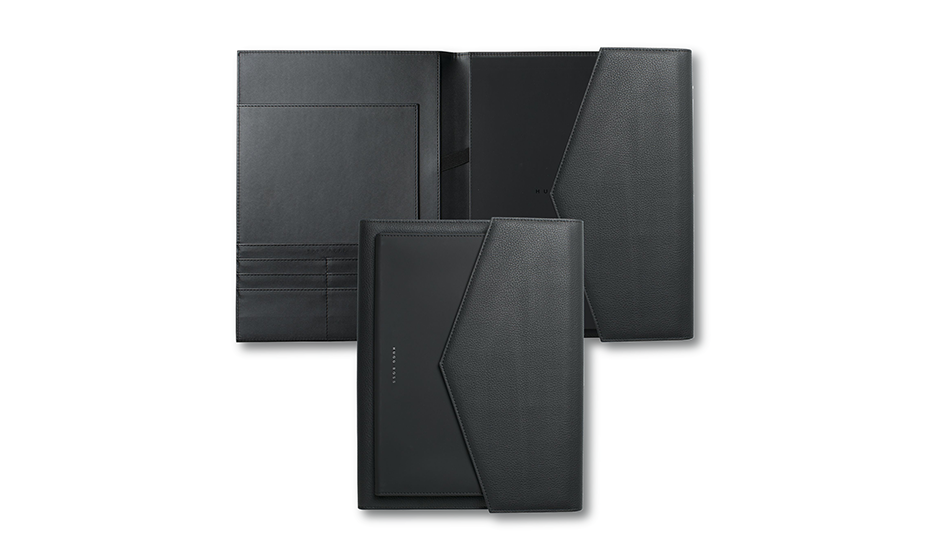 Папка Hugo Boss Sophisticated, А4, черная  HDF809A