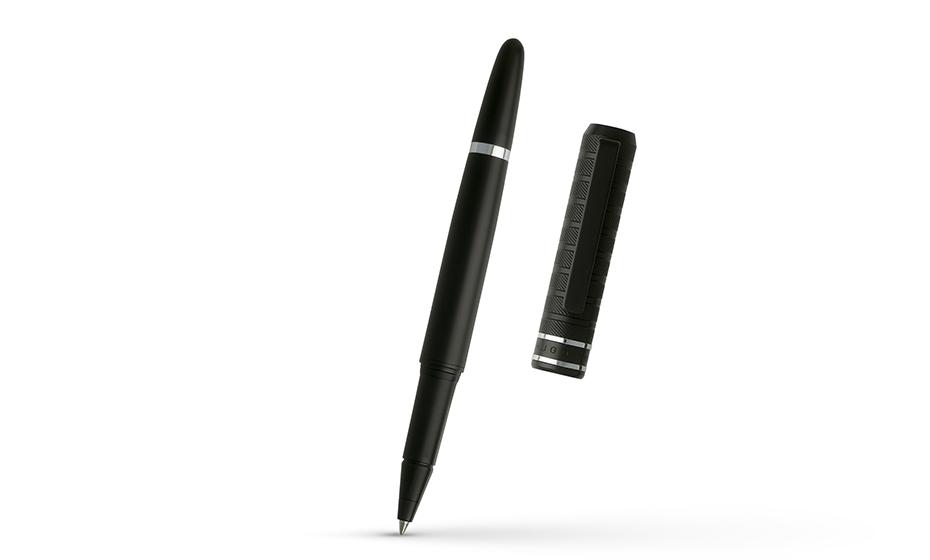 Чернильная ручка Hugo Boss Level Structure, латунь, гальваническое покрытие,  HST8455A