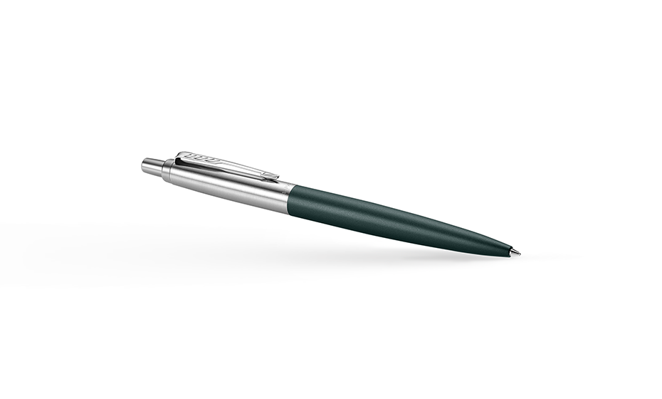 Шариковая ручка Parker Parker Jotter XL Greenwich, матовый лак, сталь, хр  2068511 3026980685119