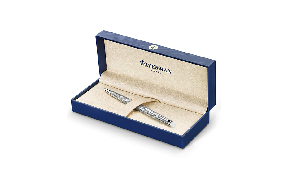 Шариковая ручка Waterman Waterman Hemisphere Deluxe Cracked Pattern, латунь  2042896 3026980428969