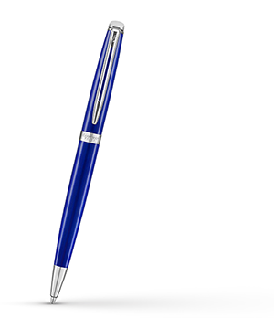 Шариковая ручка Waterman Waterman Hemisphere Bright Blue, латунь, лак метал  2042968
