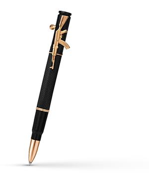 Шариковая ручка KIT KIT, золото, гравировка  R013201