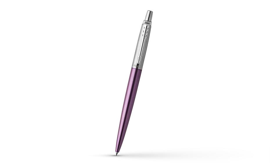 Набор Parker Jotter, ручка шариковая+чехол, серебристый  2061286 3026980612863
