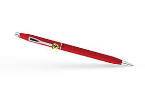 Шариковая ручка Cross Феррари, латунь, лак, матовая, красная  FR0082-117