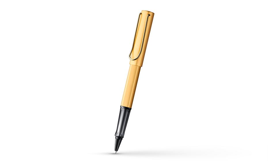 Чернильная ручка Lamy Lamy Lx, аннодированный алюминий, позолота  4031634