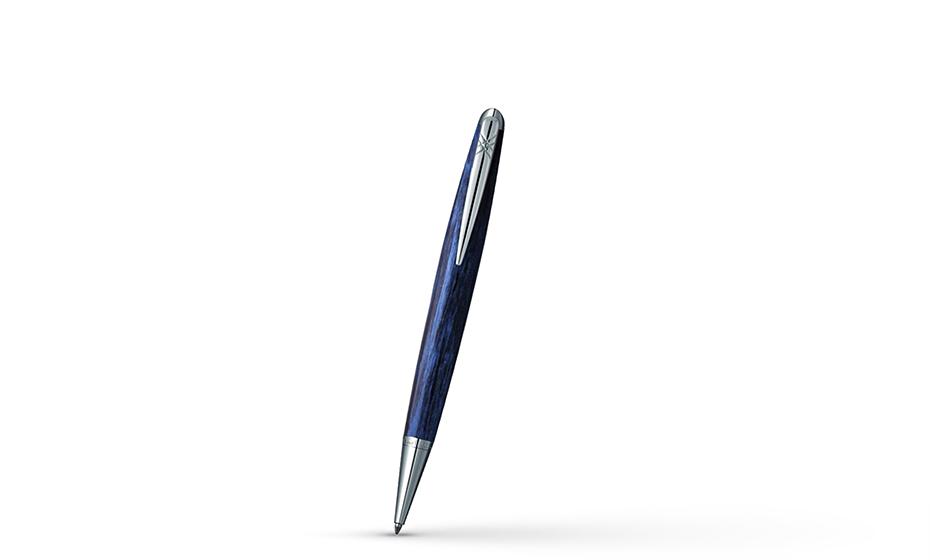 Шариковая ручка Pierre Cardin Majestic латунь, акрил, синяя  PCX754BP PCX754BP