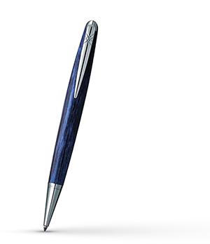 Шариковая ручка Pierre Cardin Majestic латунь, акрил, синяя  PCX754BP