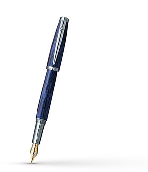 Перьевая ручка Pierre Cardin Majestic латунь, акрил, синяя  PCX754FP