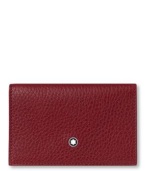 Визитница Montblanc Double Envelope Meisterst?ck Soft Grain, зернистая  116974