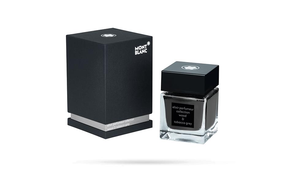 Чернила Montblanc Elixir Parfumeur, древесно-табачный аромат, 50 мл,  118215