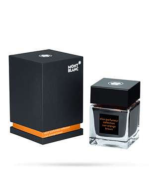 Чернила Montblanc Elixir Parfumeur, аромат кожи, в бутылочке, 50 мл,  118216
