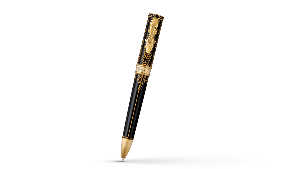 Шариковая ручка Montegrappa Montegrappa Game of Thrones Baratheon, позолота, с  GAMOFTH-BAR-BP-1