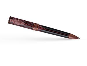 Шариковая ручка Montegrappa Montegrappa Game of Thrones Targaryen, смола, крас  GAMOFTH-TAR-BP-1