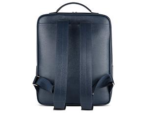 Рюкзак Avanzo Daziaro SAFFIANO, прямоугольной формы, на молнии, кожа, си  AD-019-102803'