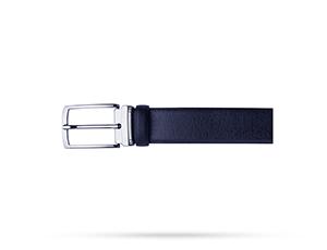 Ремень Avanzo Daziaro SAFFIANO, с прямоугольной пряжкой, кожа, синий  AD-019-BELT3503'