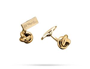 Запонки S.T. Dupont S.T. Dupont, в форме клубка с отделкой золотом  5613