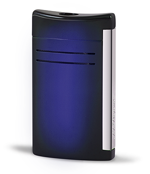 Зажигалка S.T. Dupont Maxijet, с покрытием sunburst, синяя  20164N