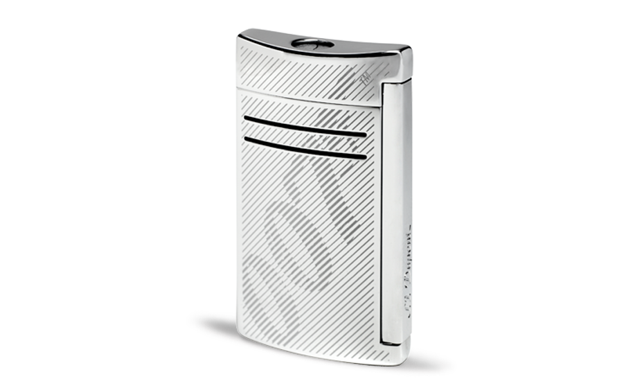 Зажигалка S.T. Dupont MaxiJet James Bond 007, логотип 007 и Spectre, хро  20167N