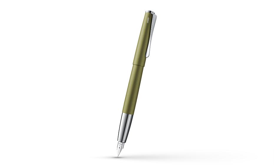 Перьевая ручка Lamy нержавеющая сталь, детали дизайна- зеркальный хром  4033300