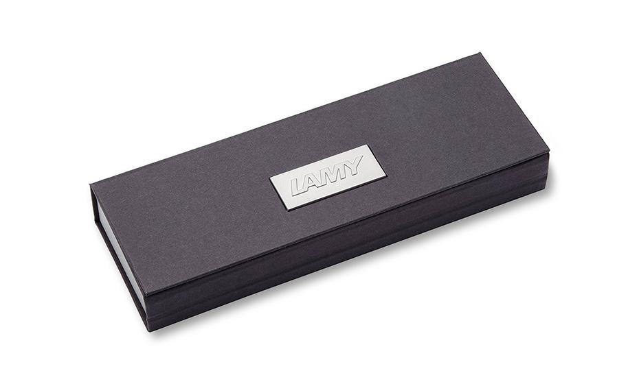 Чернильная ручка Lamy алюминий, съемный колпачок, пишущий узел F, длина  4033690