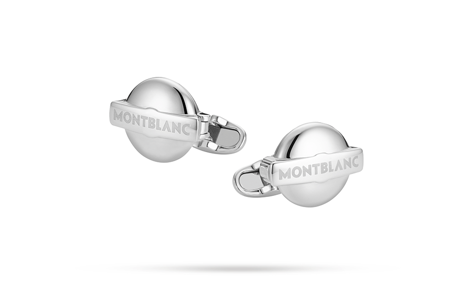 Запонки Montblanc Серебро 925 пробы, 17 мм  118593