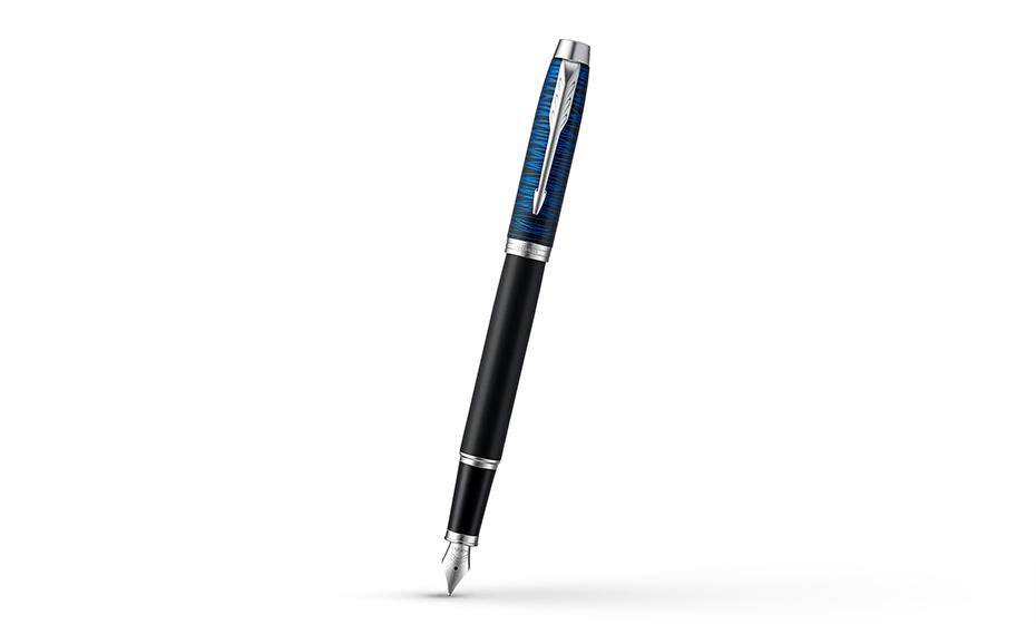 Перьевая ручка Parker Отделка пера- нержавеющая сталь, съемный колпачек,  2073474