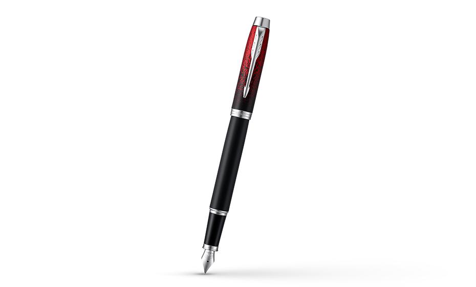 Перьевая ручка Parker механизм съемный колпчек, перо- легированная сталь  2073479