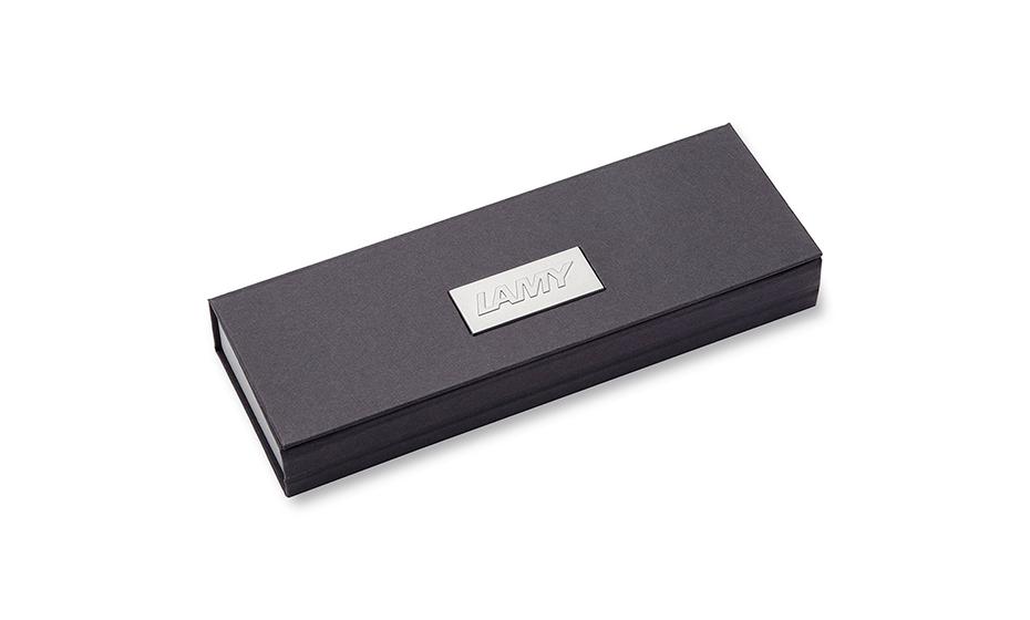 Перьевая ручка Lamy нержавеющая сталь, детали дизайна - зеркальный хро  4033262