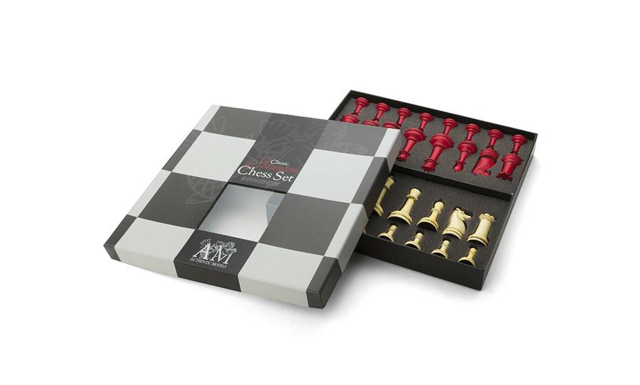 Шахматы Authentic Models Пластик, 28,5x27,7x4,2 см  GR021