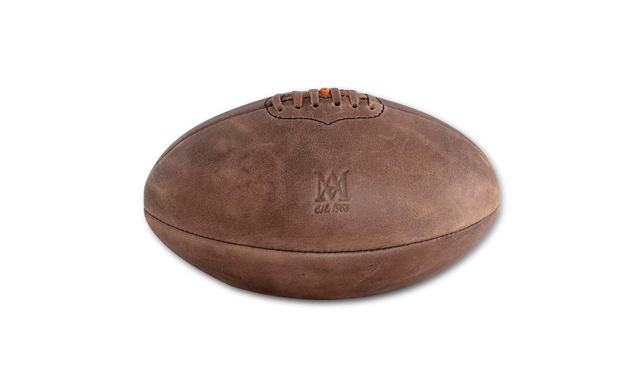 Мяч Authentic Models натуральная кожа, 22 x 32 x 22 см  HA023
