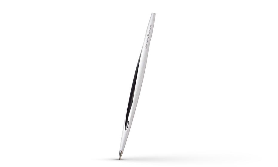 Вечная ручка Pininfarina аэрокосмический алюминий, бетон, в комплекте-подст  NPKRE01669